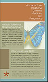 Acupuncture and Pregnancy Brochure